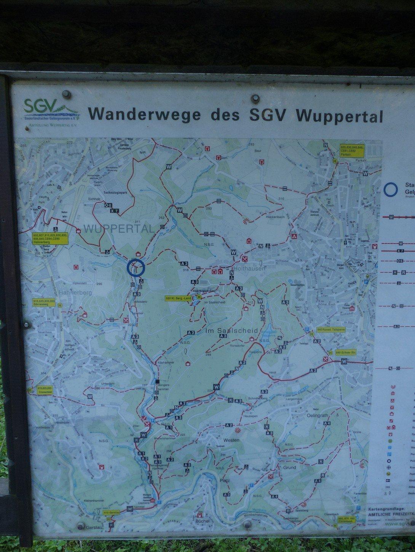 Wanderwege SGV Wuppertal